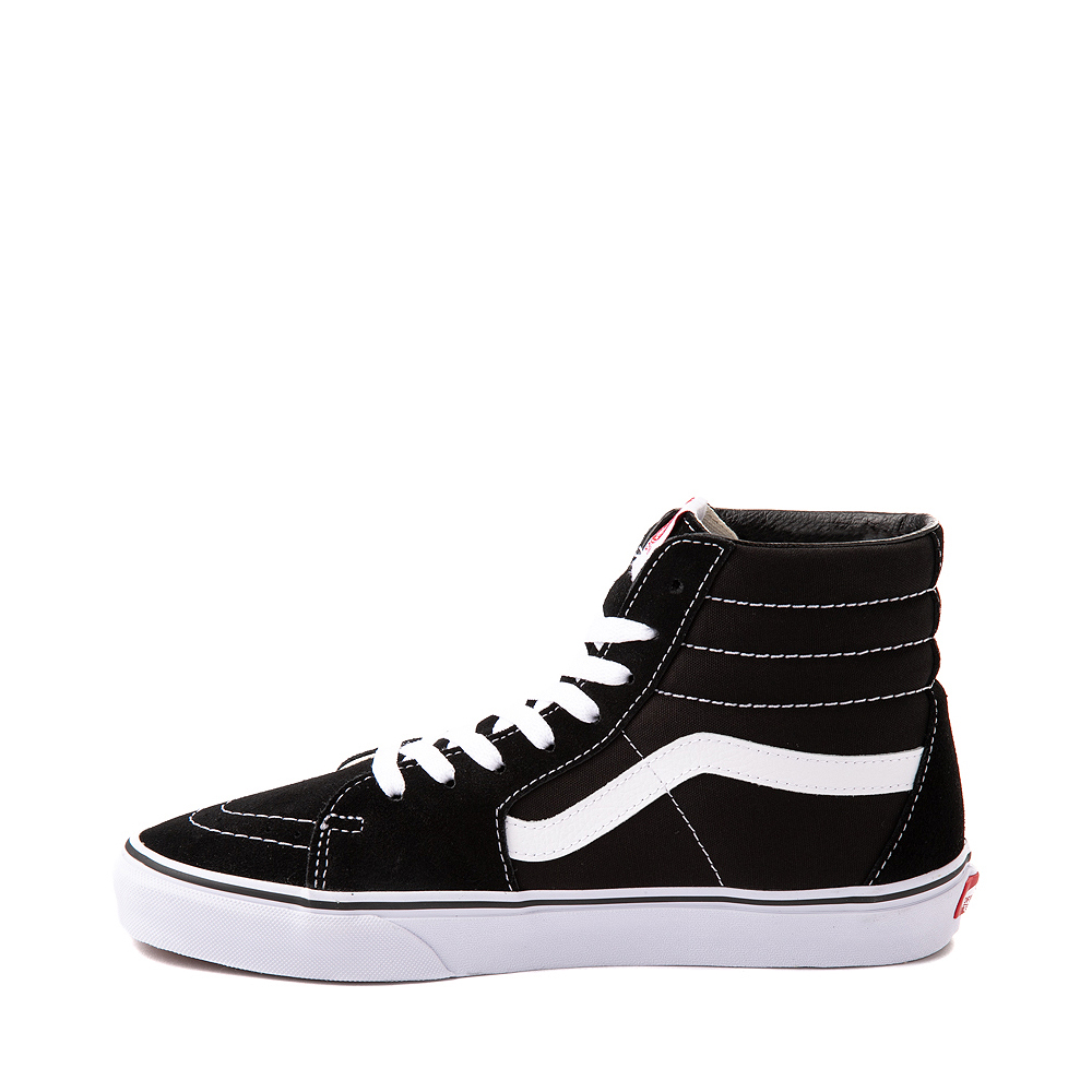 vans sk8 low black and white