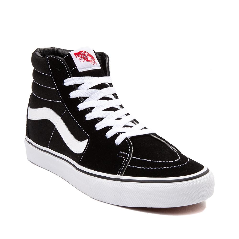 Vans Sk8 Hi Skate Shoe - Black