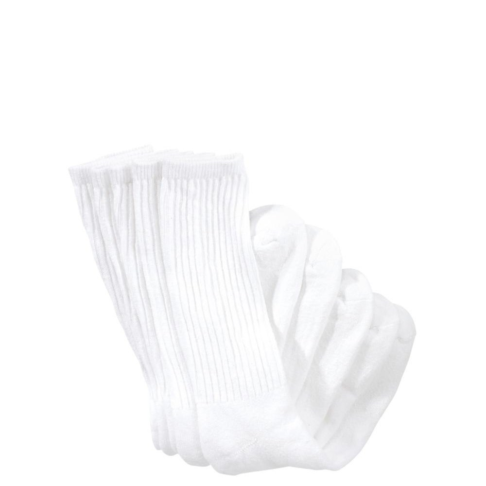 Mens White Crew Socks 5 Pack