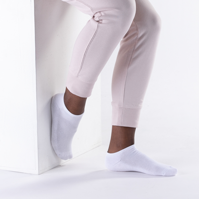 Alternate view of Womens Footies 5-pack - White
