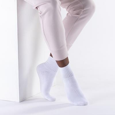 Alternate view of Womens Quarter Socks 5 Pack - White