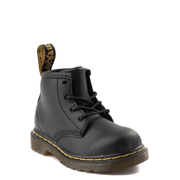 alternate view Dr. Martens 1460 4-Eye Boot - Baby / Toddler - BlackALT1