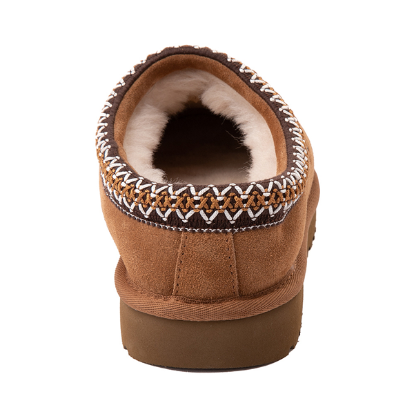 alternate view Womens UGG® Tasman Clog - ChestnutALT4