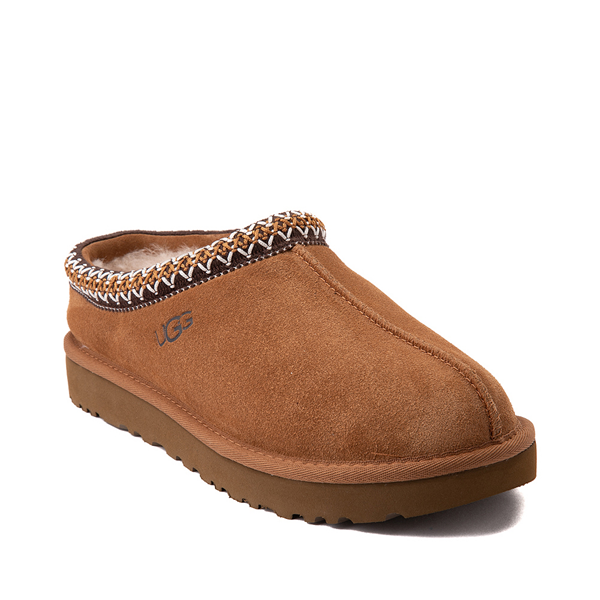 alternate view Womens UGG® Tasman Clog - ChestnutALT5