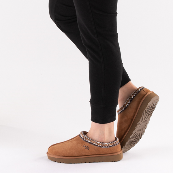 alternate view Womens UGG® Tasman Clog - ChestnutB-LIFESTYLE1