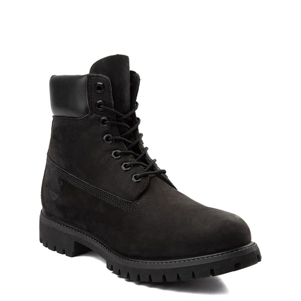 "Alternate view of Mens Timberland 6"" Classic Boot - Black"