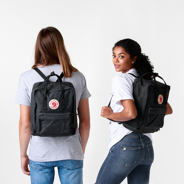alternate view Fjallraven Kanken Backpack - BlackALT1BADULT