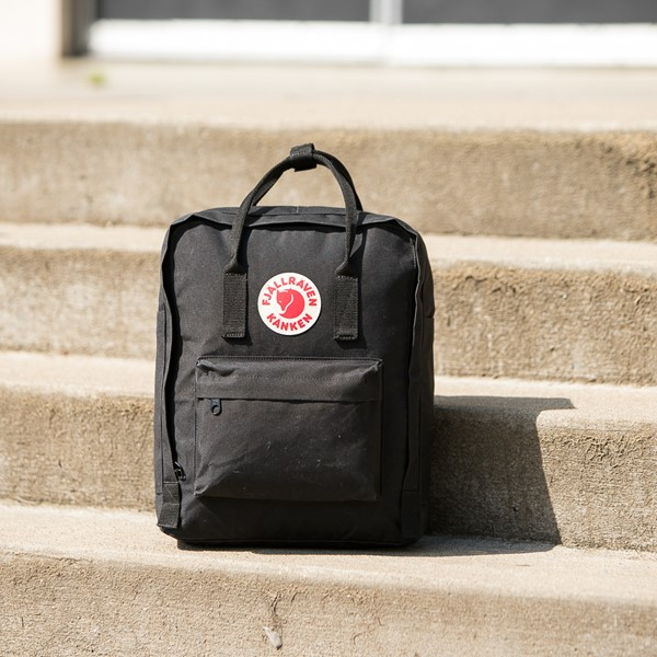 alternate view Fjallraven Kanken Backpack - BlackALT1BB