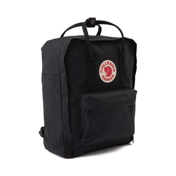 alternate view Fjallraven Kanken Backpack - BlackALT4B