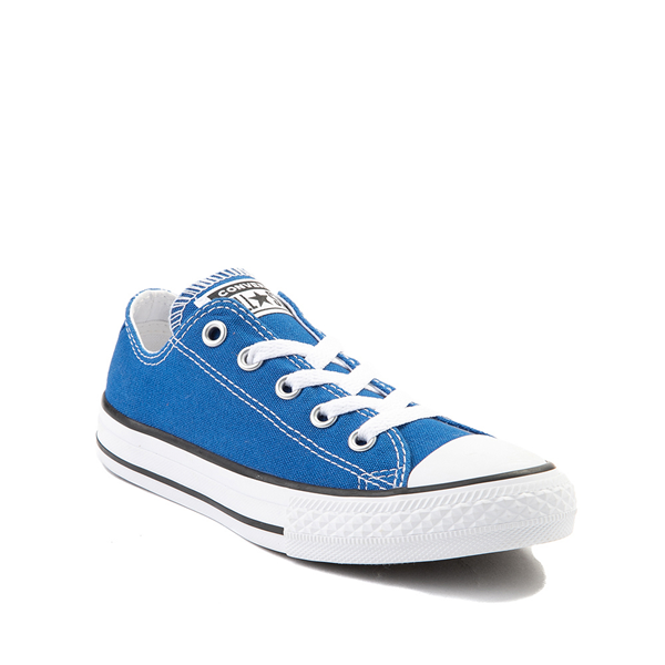 alternate view Converse Chuck Taylor All Star Lo Sneaker - Little Kid - Snorkel BlueALT5