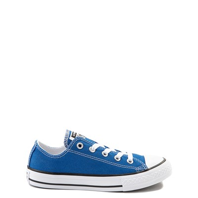 Main view of Youth Royal Blue Converse Chuck Taylor All Star Lo Sneaker