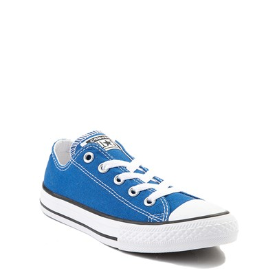 Alternate view of Youth Royal Blue Converse Chuck Taylor All Star Lo Sneaker