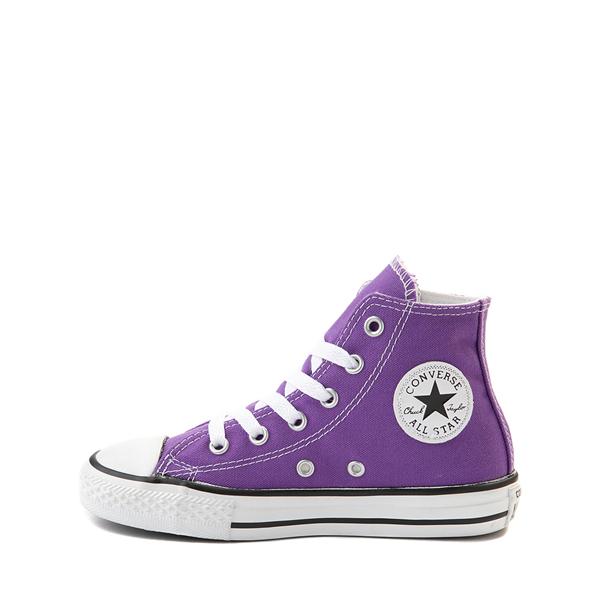 alternate view Converse Chuck Taylor All Star Hi Sneaker - Little Kid - PurpleALT1