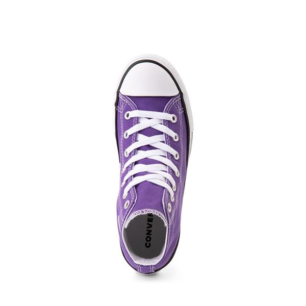 alternate view Converse Chuck Taylor All Star Hi Sneaker - Little Kid - PurpleALT2
