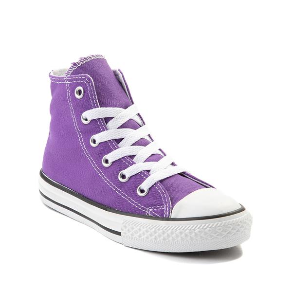 alternate view Converse Chuck Taylor All Star Hi Sneaker - Little Kid - PurpleALT5
