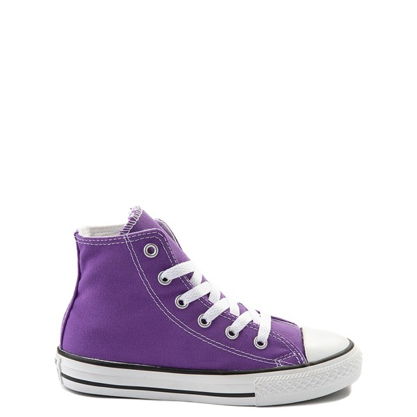 Converse Chuck Taylor All Star Hi Sneaker - Little Kid - Purple