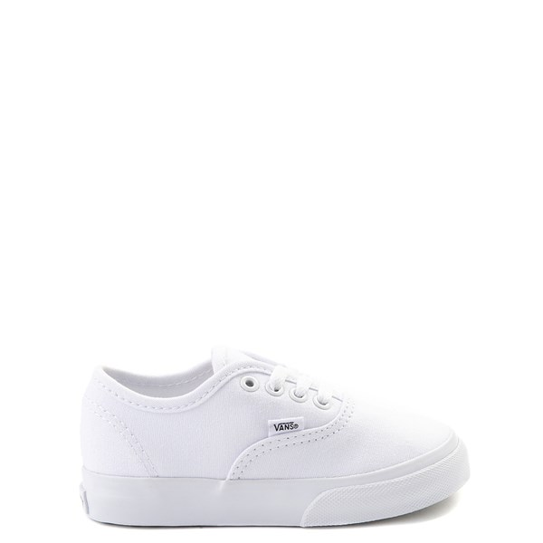 Default view of Vans Authentic Skate Shoe - Baby / Toddler - White