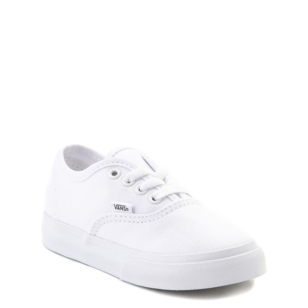 Alternate view of Vans Authentic Skate Shoe - Baby / Toddler - White