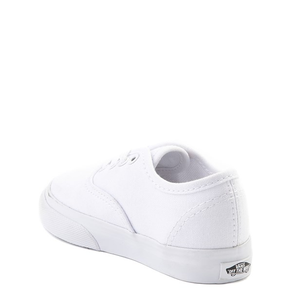 alternate view Vans Authentic Skate Shoe - Baby / Toddler - WhiteALT2