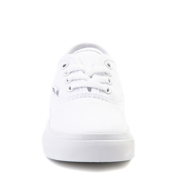 alternate view Vans Authentic Skate Shoe - Baby / Toddler - WhiteALT4