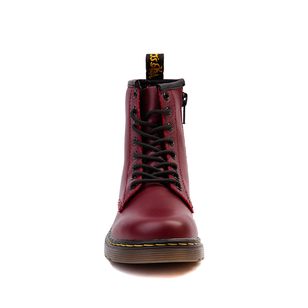 alternate view Dr. Martens 1460 8-Eye Boot - Little Kid / Big Kid - CherryALT4
