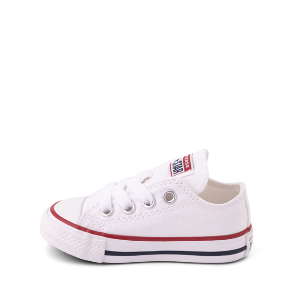 alternate view Converse Chuck Taylor All Star Lo Sneaker - Baby / Toddler - WhiteALT1