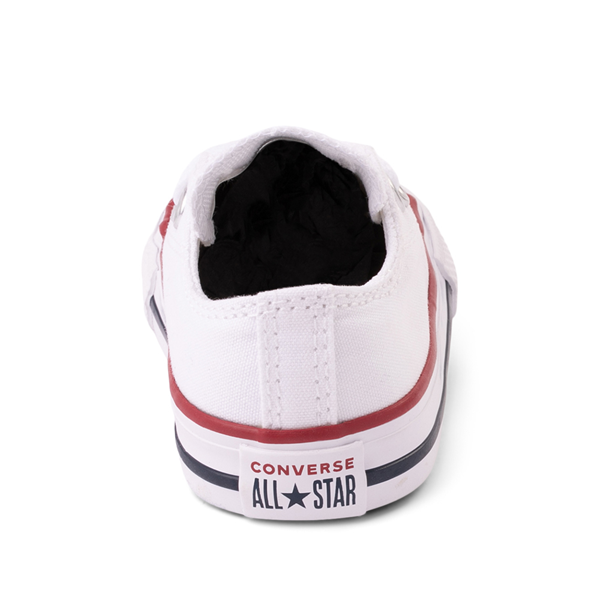 alternate view Converse Chuck Taylor All Star Lo Sneaker - Baby / Toddler - WhiteALT4