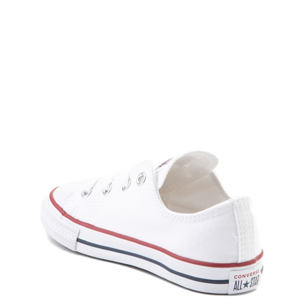 alternate view Converse Chuck Taylor All Star Lo Sneaker - Baby / Toddler - WhiteALT2
