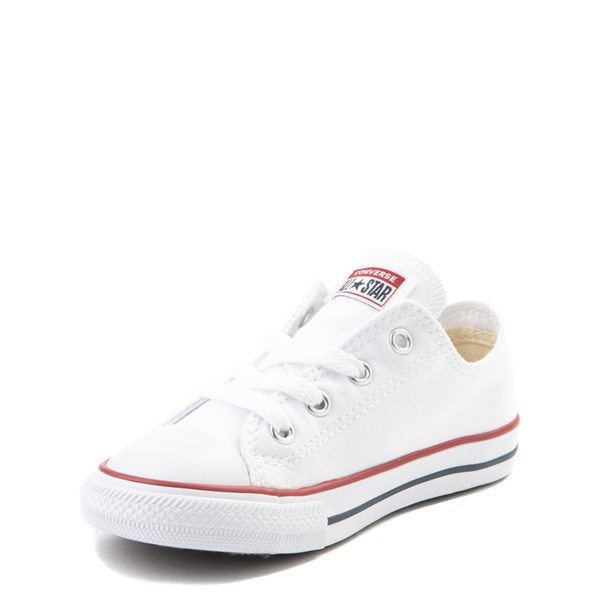 alternate view Converse Chuck Taylor All Star Lo Sneaker - Baby / Toddler - WhiteALT3