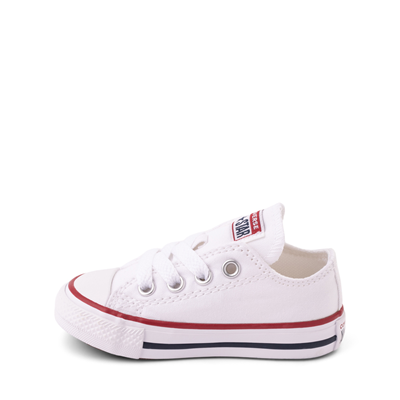 Alternate view of Converse Chuck Taylor All Star Lo Sneaker - Baby / Toddler - White