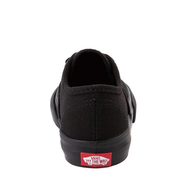 alternate view Vans Authentic Skate Shoe - Baby / Toddler - Black MonochromeALT4