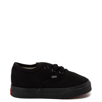 Main view of Vans Authentic Skate Shoe - Baby / Toddler - Black Monochrome