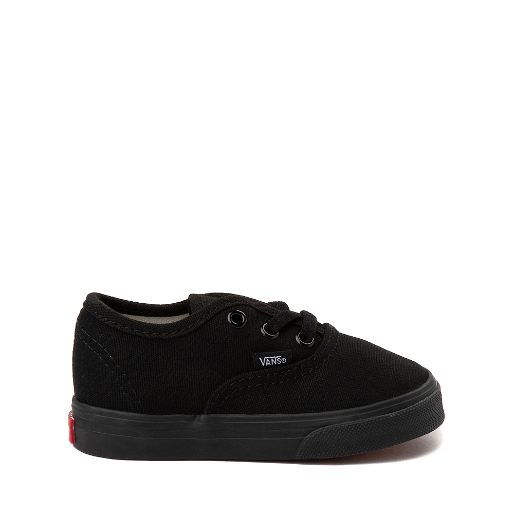 Vans Authentic Skate Shoe - Baby / Toddler - Black Monochrome