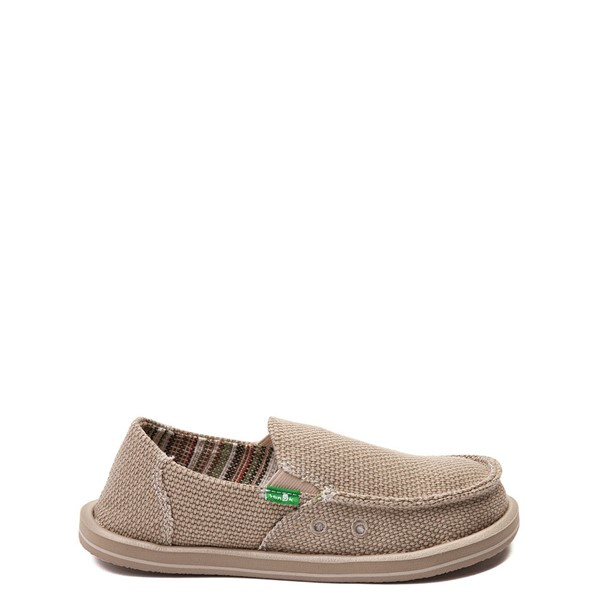 Sanuk Vagabond Casual Shoe - Little Kid / Big Kid - Khaki