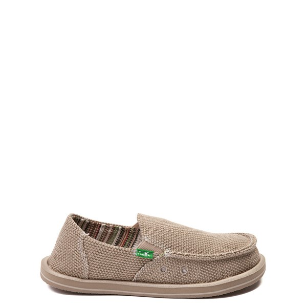Main view of Sanuk Vagabond Casual Shoe - Little Kid / Big Kid - Khaki