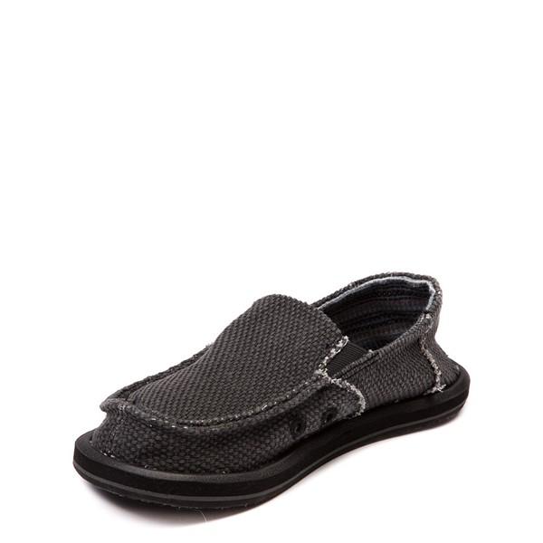 alternate view Sanuk Vagabond Casual Shoe - Little Kid / Big Kid - BlackALT2