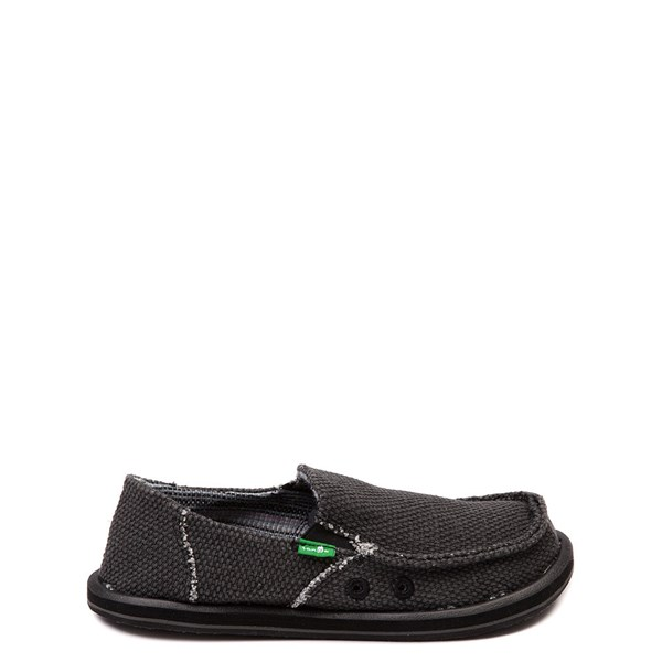 Main view of Sanuk Vagabond Casual Shoe - Little Kid / Big Kid - Black