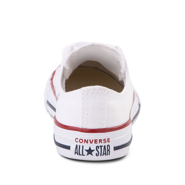 alternate view Converse Chuck Taylor All Star Lo Sneaker - Little Kid - WhiteALT4