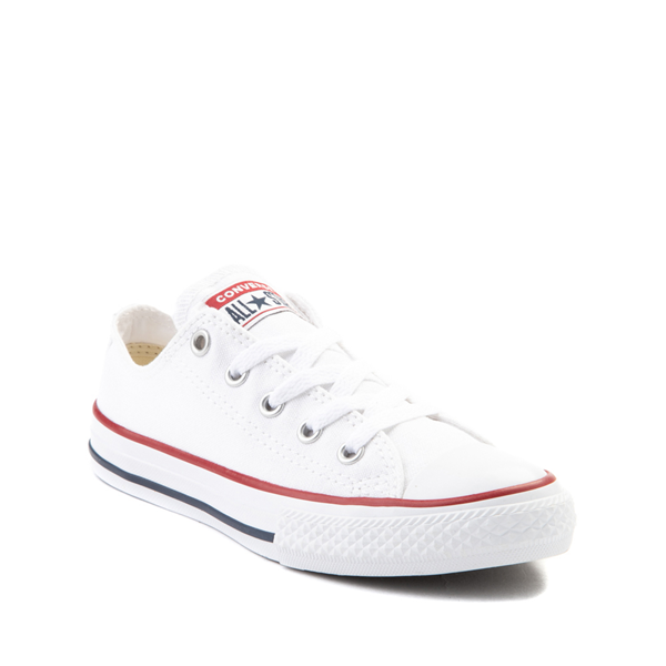 alternate view Converse Chuck Taylor All Star Lo Sneaker - Little Kid - WhiteALT5