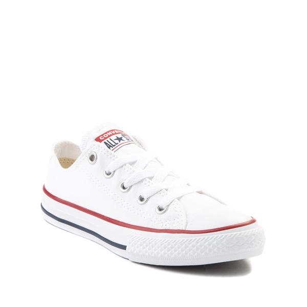 alternate view Converse Chuck Taylor All Star Lo Sneaker - Little Kid - WhiteALT5