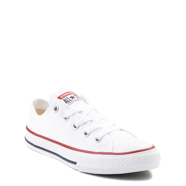alternate view Converse Chuck Taylor All Star Lo Sneaker - Little Kid - WhiteALT1