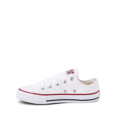 Alternate view of Converse Chuck Taylor All Star Lo Sneaker - Little Kid - White