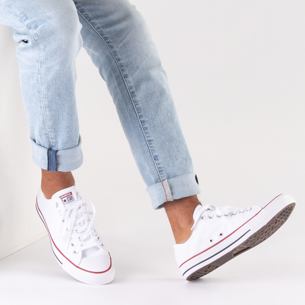 alternate view Converse Chuck Taylor All Star Lo Sneaker - WhiteB-LIFESTYLE1
