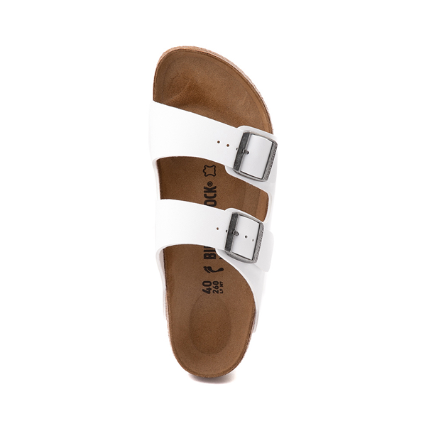alternate view Womens Birkenstock Arizona Sandal - WhiteALT2
