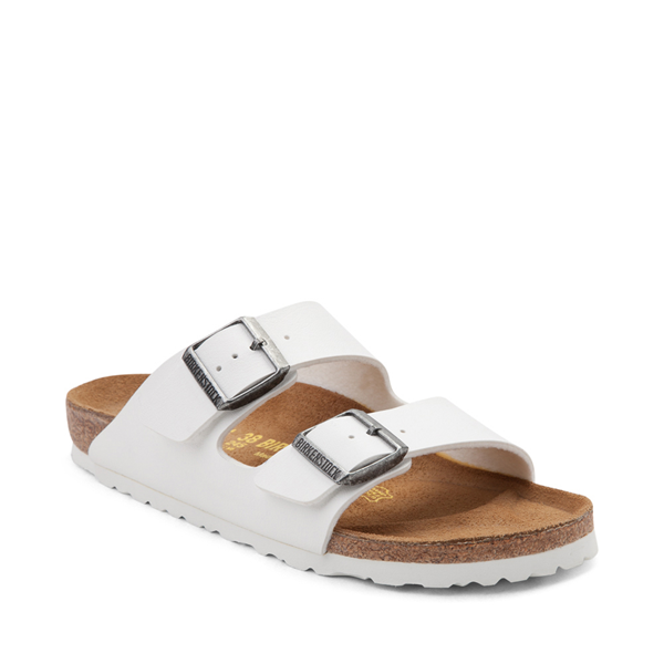 alternate view Womens Birkenstock Arizona Sandal - WhiteALT5