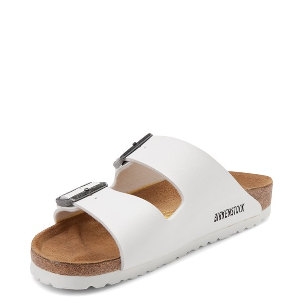 alternate view Womens Birkenstock Arizona Sandal - WhiteALT3