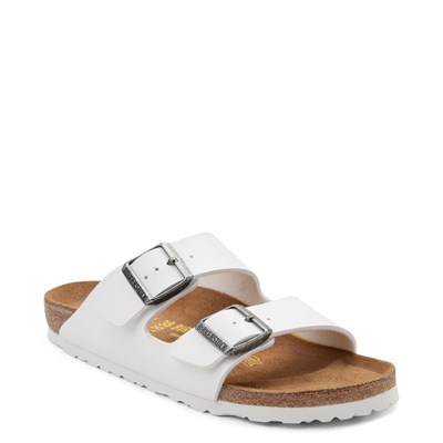 Alternate view of Womens Birkenstock Arizona Sandal - White