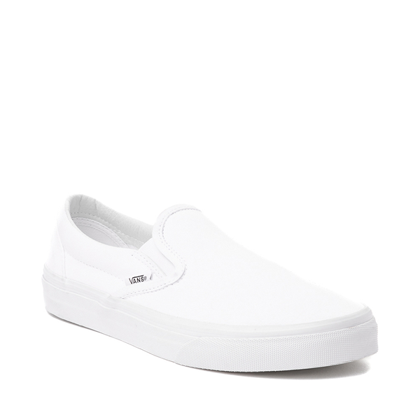 alternate view Vans Slip On Skate Shoe - WhiteALT5
