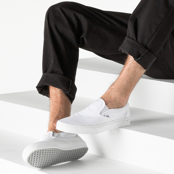 alternate view Vans Slip On Skate Shoe - WhiteB-LIFESTYLE1