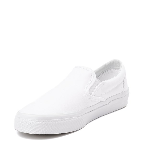 alternate view Vans Slip On Skate Shoe - WhiteALT2